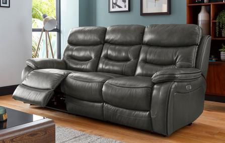 All Leather Sofas Blacks And Greys Dfs Spain